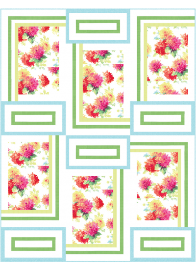 Darling Mums Quilt by Heidi Pridemore