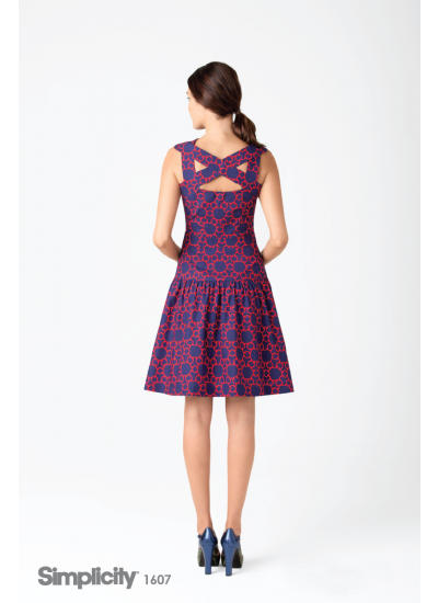 Cynthia Rowley Inspiration - Womens Dress - Back