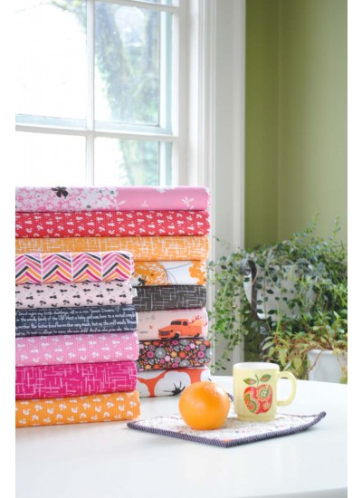 Violet Craft Inspiration - madrona road citrus collection