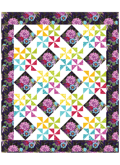 Emma's Garden Quilt by Susan Emory
