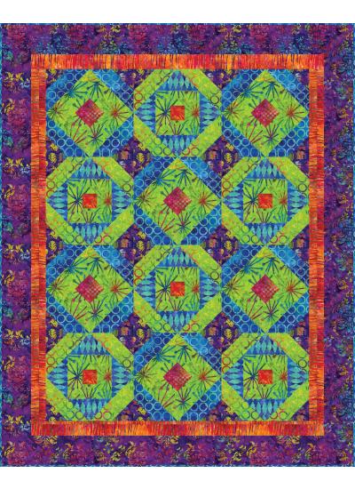 Exploding Color Quilt