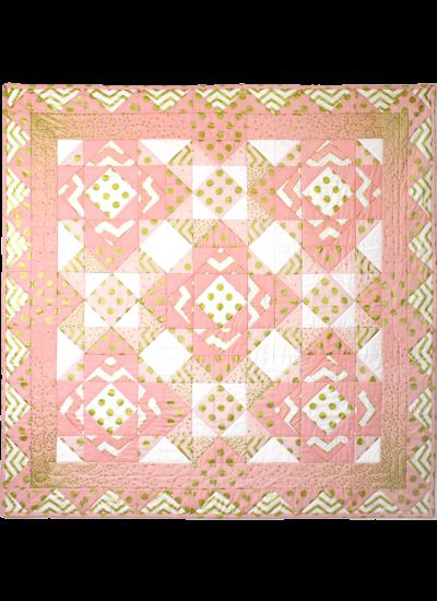Glitz Pink Quilt