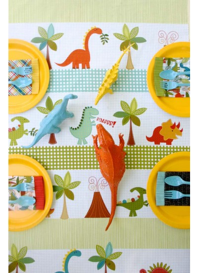 Dino Roars Inspiration table cloth