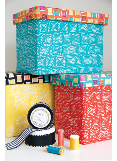 Love to Sew Storage boxes