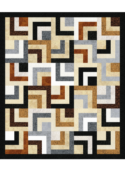 Neutral Nexus Quilt