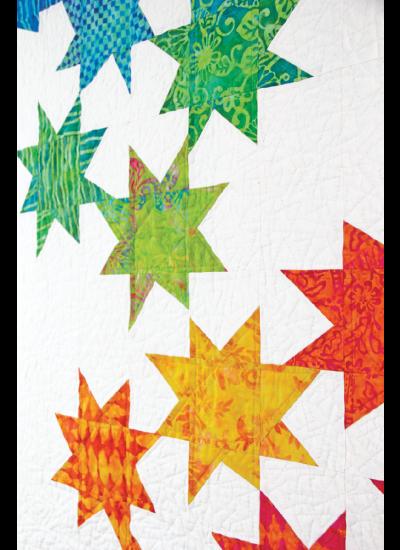 Batik Stars quilt ins2