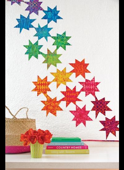 Batik Stars quilt ins1