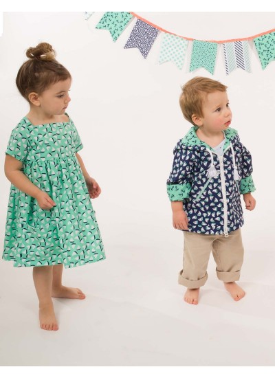 The Littles Toddler Jacket and Dress