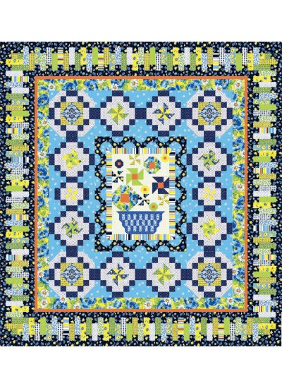 Clubhouse Inspiration -vibrant quilt