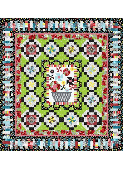 Clubhouse 2013 Inspiration - vintage quilt