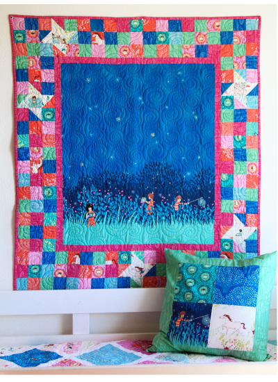 Wee Wander Firefly Border Quilt