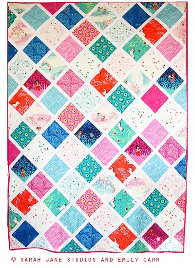 Wee Wander Lattice Quilt