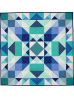 Sea Glass Medallion QUILT by Nighting Gale Quilts-  pattern available at: nightingalequilts.blogspot.com