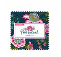 "PROVENCIAL CREAM 5"" CHARM - 42pcs - comes in a case of 10"