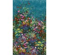 "BOWERS OF FLOWERS -PANEL -24"" repeat"