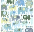 HAPPY ELEPHANTS on MINKY