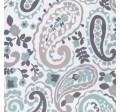 KASHMIR PAISLEY on MINKY- Contact your account manager to purchase this item
