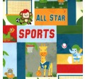 JUNGLE SPORTS on MINKY- Contact your account manager to purchase this item
