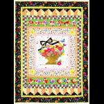 """A Tisket, A Tasket Quilt by Marinda Stewart /40""""x56"""""""