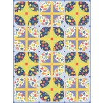"Courtyard - A Bushel and a Peck quilt by everyday stitches -64""x85"""