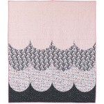 "Acadia Scallop Quilt by Modern Handcraft /50""x58"""