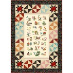 "Alphabet Soup Quilt by Charismas Corner /48""x68"" -pattern available in September"