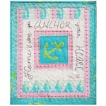 Anchor Mini Quilt by Sally Keller