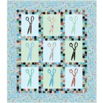 """are you shearious? - A Stitch in Time Quilt by swirly girls design 40""""x46"""""""