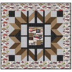 "Car Club Quilt by Penni Domikis 57""x57"""