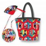 Bag Trio Pets Rock by Poorhouse Quilt Designs