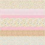 Bake Sale MINKY Strip Quilt- free pattern available in September