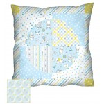 "Balls of Fun Pillow  by Heidi Pridemore /16""x16"""