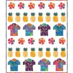 """i need a vacation too! quilt by coach House designs 48""""x57"""""""