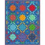 """moroccan mosaic quilt by kristine poor 59""""x75"""""""