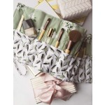 Make Up Brush roll Up by Mimi G featuring Bed of Roses Collection