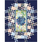 "Grand Central Be Kind to Everything that Grows Quilt by Swirly Girls Design 60""x78"""