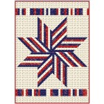 "Big Star Pop Quilt by Hunter's Design Studio / 54"" x 74"""