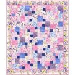 "Bakers Dozen Birdsong quilt by swirly girls design - 60""x70"""