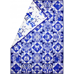 Blue & White Porcelain Quilt