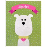 "Buster Quilt  by Shiny Happy World /42""x42"""