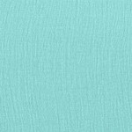 COLOR: AQUA on BUBBLE GAUZE