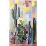 "Cactus Quilt by Laura Hein /37""x61"""