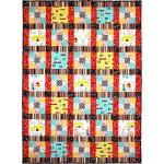 "carnival Fun Quilt by Marinda Stewart /42""x58"""