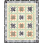 "Cat's Cradle Quilt by Heidi Pridemore   /39""x48.5"""