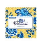 "PROVENCIAL BLUE CREAM 5"" CHARM - 42pcs -comes in a case of 10"