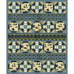 "Chase and Buck Quilt by Heidi Pridemore / 63""x76"""