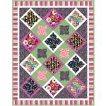 """City Garden Brite Quilt by Natalie Crabtree /58""""x75"""""""