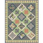 """City Garden Urban Quilt by Natalie Crabtree /58""""x75"""""""