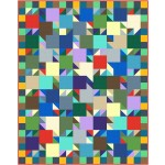 "Lucky 21 quilt by Swirly Girls Design 57""x72"""