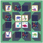 "Cubit Quilt by Stitched Together Studios / 69""x69"""